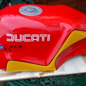 Ducati Hailwood Replica / NCR Alloy Fuel Tank