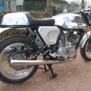 Ducati Imola tank and seat