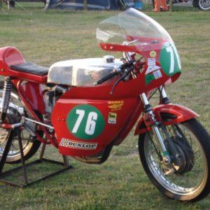 Vic camp style Ducati Single