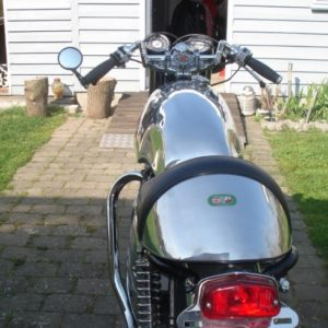 BSA A65 with Sprint style tank and TAB seat unit
