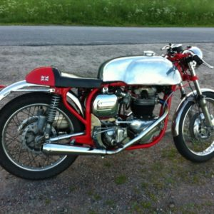 5 Gallon Manx tank an a Slimline Norton