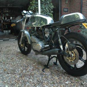 Ducati Imola tank and seat unit