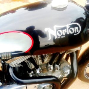 Part painted Sprint tank on a Norley