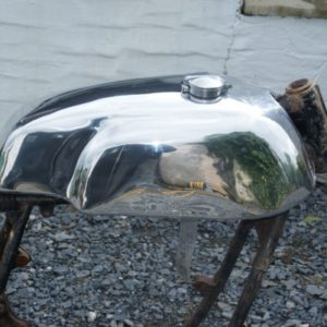 5 Gallon Manx style Alloy Fuel Tank on Honda CB/CR – £660 (incl VAT)