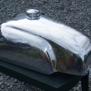 5 Gallon Manx Alloy Fuel Tank for the carb version Hinckley Thruxton and Bonneville – £696 (incl VAT)