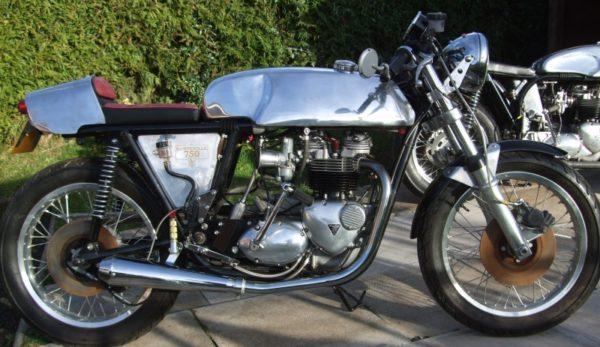 A Rickman style tank on a superb 1974 Metisse