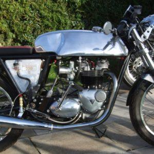 Rickman style fuel tanks