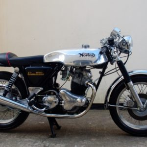 Norton Commando,this has our Sprint tank this time without clipon indents