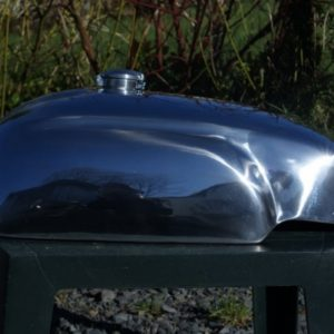 Norton Mini Manx Style Alloy Fuel Tank