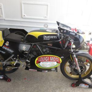 Ducati TT2 racer
