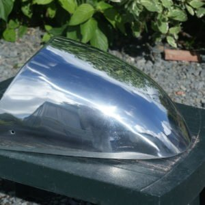 Alloy seat cowl for Triumph Thruxton – £120 (incl. VAT)