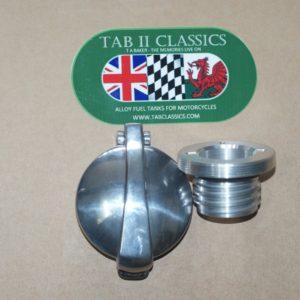 Triumph Bonneville/Thruxton Monza cap adaptor