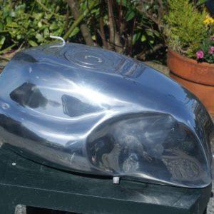 MotoGuzzi cafe racer alloy fuel tank