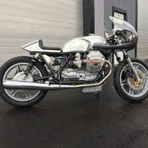 Long Guzzi with Monza cap