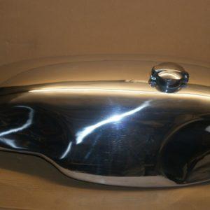 "Handmade alloy gas / fuel tank for Norton Commando – ""Sprint"" style"