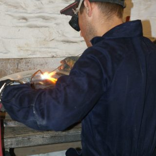 Mark welding